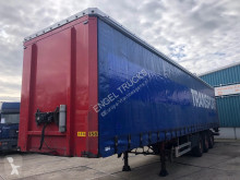 Semirimorchio Pacton T3-001 CURTAINSIDE WITH TAILLIFT (SAF AXLES / DISC BRAKES) Teloni scorrevoli (centinato) usato