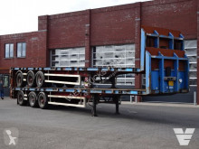 LAG flatbed semi-trailer 2x - Twistlocks - BPW Axle