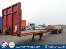 Robuste Kaiser S3803W2E 5 mtr extendable,air semi-trailer used flatbed