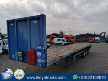Trax flatbed semi-trailer S343R0R 5 mtr extendable,air
