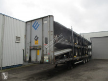 LAG chassis semi-trailer 5 Stack Mega trailers , 3 BPW Axles , 2 driving positions , Drum brakes , Air suspension