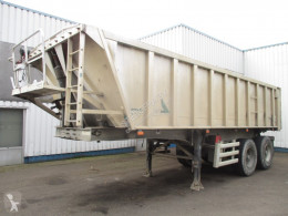 Semitrailer Stas S2SA233K , tipper trailer , spring suspension flak begagnad