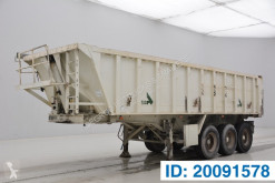 Stas 24 cub in alu semi-trailer used tipper