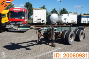 Renders 20 ft skelet semi-trailer used container