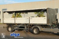 Platal SPA 10/7.0 ZL, 7.000mm lang, Zurrösen semi-trailer used dropside flatbed
