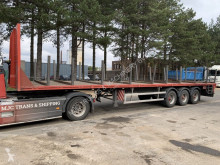 KWB AWB BPW - STEEL CARRIER / VERY STRONG PLATFORM --- ZWARE PLATEAU OPLEGGER / STAALDRAGER --- BE PAPIEREN semi-trailer used flatbed