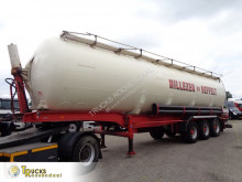 Atcomex 56 m3 + tipping Bulktank + + tip top 4 pieces in stock semi-trailer used tanker