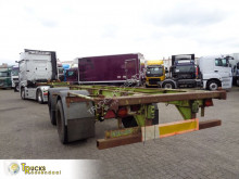 Pacton 2530 C-S + 2 AXLE+STEEL+BLAD semi-trailer used container