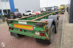 Flandria 20 FT Chassis / Steel suspension / BPW semi-trailer used container