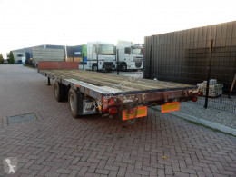 Van Hool Lowloader / Steel suspension / Double montage / Twist-locks semi-trailer used heavy equipment transport