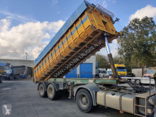 Leciñena tipper semi-trailer Steel / Stahl Kipper Blattgefedert / Steel suspension