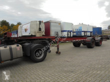 Semi remorque porte containers Netam GS 20 steel suspension