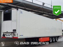 Krone mono temperature refrigerated semi-trailer Carrier Vector 1550 Doppelstock Liftachse Palettenkasten