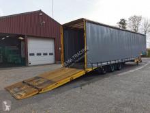 Trailer Schuifzeilen 3-assige Semi Dieplader met Hydraulische Ramp - 04/2021 APK tweedehands koelwagen mono temperatuur