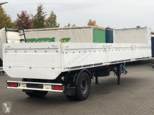 Ackermann CITY OPEN LAADBAK MET BORDEN / BLADGEVEERD semi-trailer used flatbed