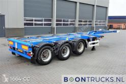 Návěs nosič kontejnerů Pacton T3-010 | 2x20-30-40-45ft HC * MULTI CHASSIS