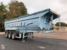 LAG BENNE/TIPPER ACIER/STEEL - 3 UNITES/UNITS semi-trailer used tipper