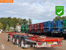 Pacton container semi-trailer TXC339 2x20ft-1x30ft-1x40ft Liftachse