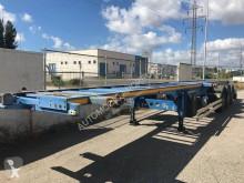 Semi remorque Lecitrailer SR-3E porte containers occasion