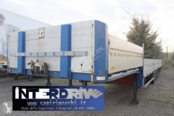 Zorzi pianale collo d'oca con sponde usato semi-trailer used dropside flatbed