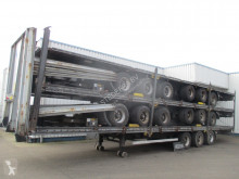 Yarı römork şasi LAG Stack of 5 Mega Trailers , 3 BPW Axle , 2 driving positions , Drum Brakes , Air Suspension