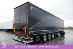 Semirimorchio centinato alla francese Schmitz Cargobull SCS 24 / LBW 2000 kg / RUNGENTASCHEN / N. PLANE