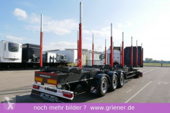 Schwarzmüller Y serie / RUNGENSATTEL HOLZ 5,5to. EXTE RUNGEN semi-trailer used timber