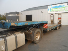 Low loader - - steel suspensions semi-trailer used heavy equipment transport