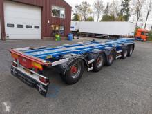 D-TEC container semi-trailer CT-53-05D 5-Assen BPW Trommelremmen - 4 liftassen - 2 stuurassen