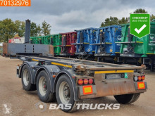 Carnehl CCS/ KT 1x 20ft. 1x 30ft. Kippchassis Ausziebar Liftachse semi-trailer used container