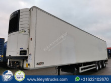 Chereau 2.5 TONS TAILLIFT last axle steering semi-trailer used mono temperature refrigerated