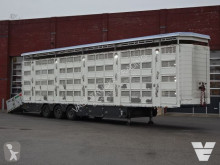 Pezzaioli SBA62 4 Stock Livestock trailer semi-trailer used cattle