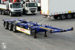 Sættevogn chassis Wielton FOR CONTAINERS/FOR ALL TYPES /EXTENDABLE REAR