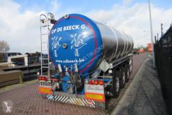 Semirimorchio cisterna Vocol Tank trailer RVS / 33.000 Liter / MB Disc
