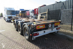 Semi remorque D-TEC FT-43-03V / 3x Extendable / ADR / Lift Axle porte containers occasion