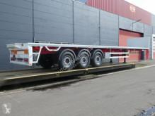 Semitrailer Pacton Kraanoplegger - Fusee as - NIEUW platta häckar begagnad