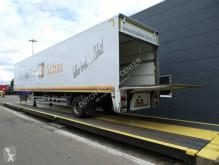 Naczepa Pacton Gesloten opbouw met stuuras en laadklep furgon używana