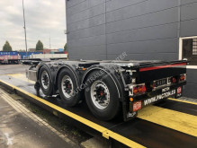 Pacton container semi-trailer containerchassis | vaste kop