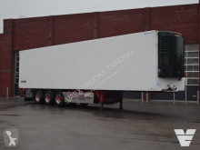 Pacton mono temperature refrigerated semi-trailer Bussbygg Frigo trailer, ThermoKing SL200e, Side doors