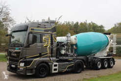 Euromix EUROMIX semi-trailer used concrete mixer concrete