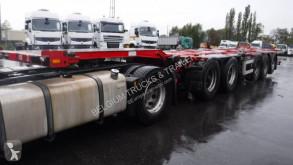 Semi reboque D-TEC chassis combi porta contentores usado