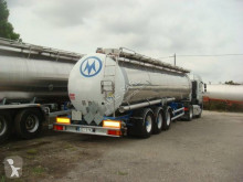 Magyar chemical tanker semi-trailer CITERNE INOX CHIMIQUE 32500L 38T MONOCUVE SUSPENSIONS AIR FREINS A DISQUES