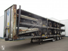 Semi remorque LAG , STACK OF 5 MEGA TRAILERS , 3 BPW AXLE , 2 RIJSTANDEN , DRUM BRAKES , AIR SUSPENSION châssis occasion