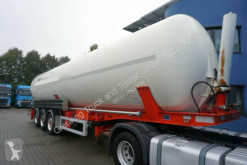 Semirimorchio Feldbinder KIP 60.3, 2x vorhanden cisterna polverulenti usato