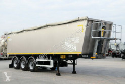 Semirimorchio Mega TIPPER 45 M3 / LIFTED AXLE / FLAP-DOORS / ribaltabile usato
