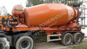 Félpótkocsi Liebherr Kumlin naczepa betonomieszarka használt betonkeverő beton