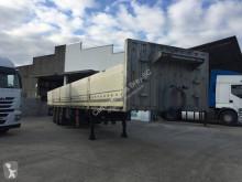 Leciñena Caja abierta semi-trailer used flatbed