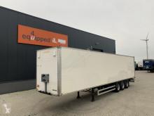 Semi remorque fourgon Fruehauf volledig chassis, hardhouten vloer, SMB+trommelremmen NL-trailer, APK: 04/2021