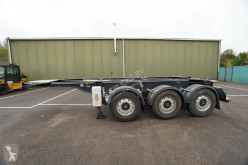 Semitrailer containertransport Renders 20 FT ADR Chassis