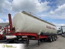 Semi remorque Atcomex 56 m3 + tipping Bulktank + + tip top 4 pieces in stock citerne occasion